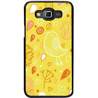ifasho Animated Pattern colrful design cartoon flower with leaves Back Case Cover for Samsung Galaxy Grand 3