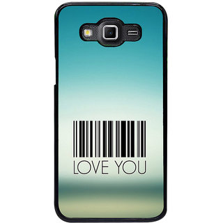 ifasho Love Quotes I love you Back Case Cover for Samsung Galaxy Grand 3