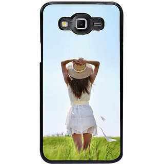 ifasho Girl waiting Back Case Cover for Samsung Galaxy Grand 3