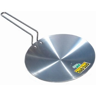 OTC KITCHENWARE TM Tawa With Handle Diameter 26 cm Aluminium