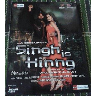 Singh Is Kinng Movie DVD
