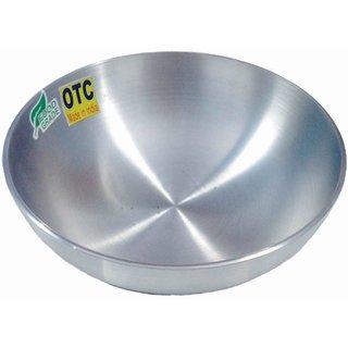 OTC KITCHENWARE TM Kadai with Handle 2.1 Liters - Diameter 23 cm Aluminium