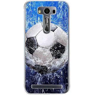 ifasho Foot ball Back Case Cover for Asus Zenfone Go