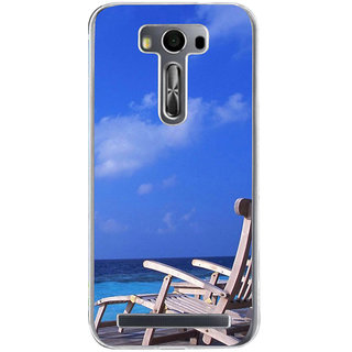 ifasho Beach  Back Case Cover for Asus Zenfone Go