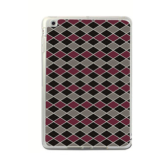 ifasho Animated Pattern of Chevron Arrows royal style Back Case Cover for Apple IPad Mini 4