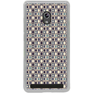 ifasho Colour Full Square Pattern Back Case Cover for Asus Zenfone 5