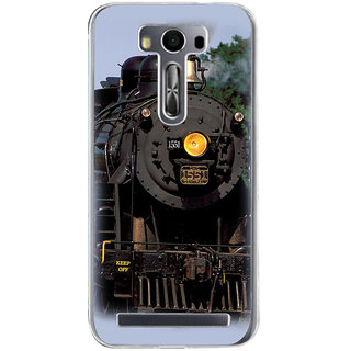 ifasho Train engine design Back Case Cover for Asus Zenfone Go