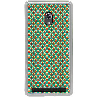 ifasho Animated Pattern of Chevron Arrows royal style Back Case Cover for Asus Zenfone 6