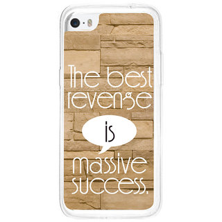 ifasho quotes on success Back Case Cover for Apple Iphone 5C