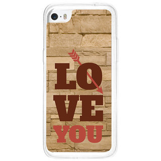ifasho Quote On Love you and me Back Case Cover for Apple Iphone 5C