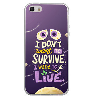 ifasho life Quotes Back Case Cover for Apple Iphone 4