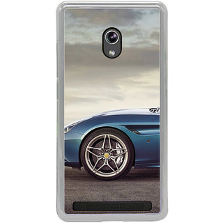 ifasho Stylish long Car wheel Back Case Cover for Asus Zenfone 6