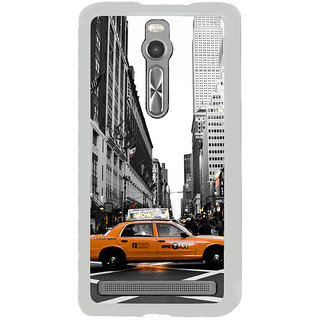 ifasho Car In newyork City taxi Back Case Cover for Asus Zenfone 2