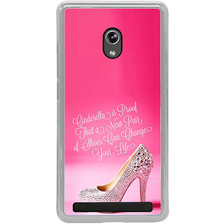ifasho life changing quote Back Case Cover for Asus Zenfone 5