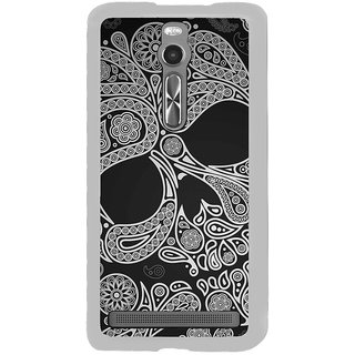 ifasho Modern  Design skeleton in royal Pattern Back Case Cover for Asus Zenfone 2
