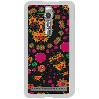 ifasho Animated Pattern Back Case Cover for Asus Zenfone 2