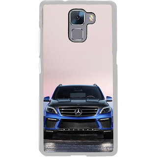 ifasho Amzing blue Car Back Case Cover for Honor 7