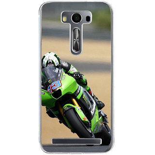 ifasho Sports Bike Back Case Cover for Asus Zenfone Selfie