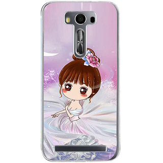 ifasho Princess Girl Back Case Cover for Asus Zenfone Selfie