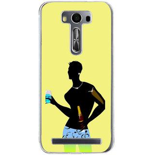 ifasho Designer boy Back Case Cover for Asus Zenfone Go