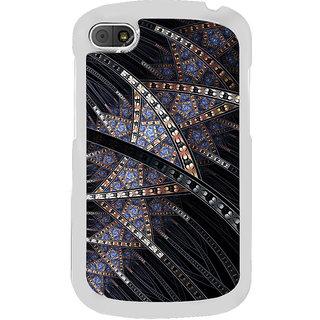 ifasho modern design in multi color pattern Back Case Cover for BLACKBERRY Q10