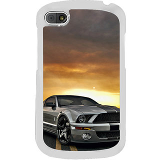 ifasho Wow car Back Case Cover for BLACKBERRY Q10