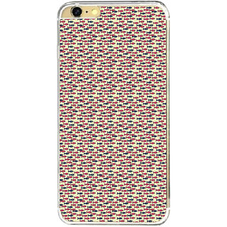 ifasho Modern Art Design Pattern Lot of fish Back Case Cover for Apple Iphone 6