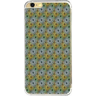 ifasho Animated Pattern design many small flowers  Back Case Cover for Apple Iphone 6