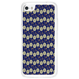 ifasho Animated Pattern design colorful flower in royal style Back Case Cover for Apple Iphone 5C