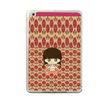 ifasho Cute Girl animated Back Case Cover for Apple IPad Mini 4