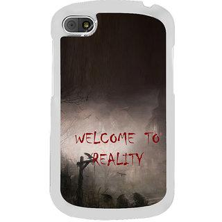 ifasho Graveyard horror Back Case Cover for BLACKBERRY Q10