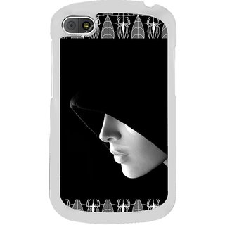 ifasho covered Girl and Spider Back Case Cover for BLACKBERRY Q10