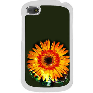 ifasho one Flowers Back Case Cover for BLACKBERRY Q10