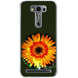 ifasho one Flowers Back Case Cover for Asus Zenfone Go