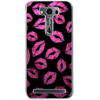 ifasho lovely Lips Back Case Cover for Asus Zenfone Go