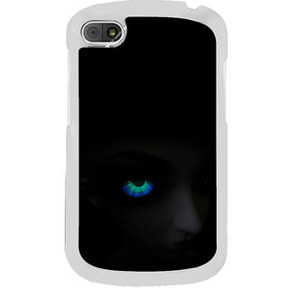 ifasho Girl with shining eyes Back Case Cover for BLACKBERRY Q10