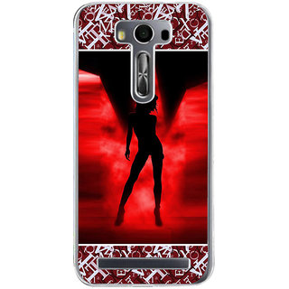 ifasho Girl dancing Back Case Cover for Asus Zenfone Go