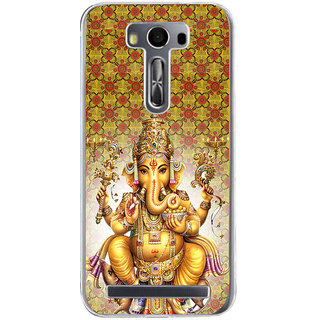 ifasho Lord Ganesha Back Case Cover for Asus Zenfone Go