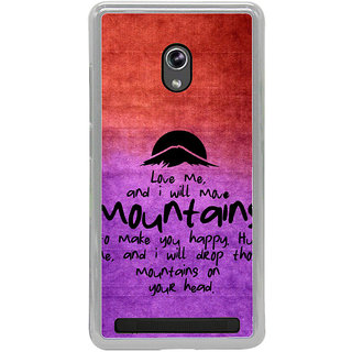 ifasho Love Quotes for love Back Case Cover for Asus Zenfone 6