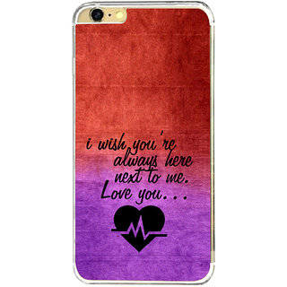 ifasho Love Quote Back Case Cover for Apple Iphone 6