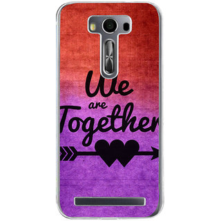 ifasho We are together Back Case Cover for Asus Zenfone Selfie