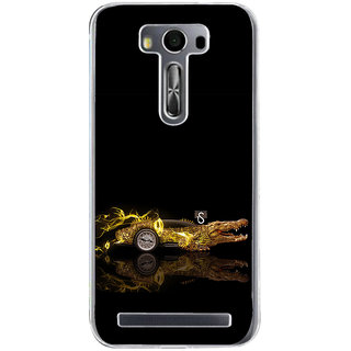 ifasho crocodile animated car Back Case Cover for Asus Zenfone Selfie