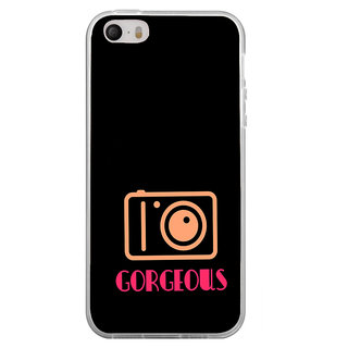 ifasho Being Yourself gorgeous Back Case Cover for Apple Iphone 4