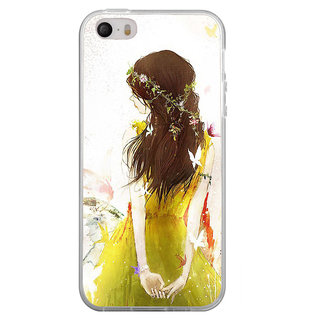 ifasho Princess painting Back Case Cover for Apple Iphone 4