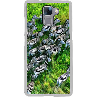 ifasho Zebra with Stripes Back Case Cover for Honor 7