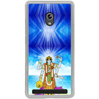ifasho Lord Vishnu Back Case Cover for Asus Zenfone 6