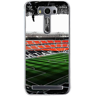 ifasho Football stadium field Back Case Cover for Asus Zenfone Go