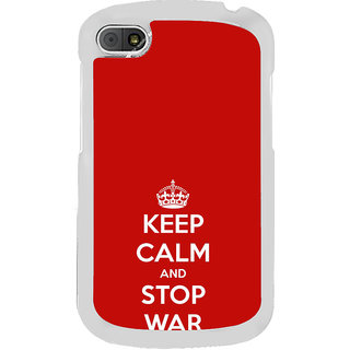 ifasho Nice Quote On Keep Calm Back Case Cover for BLACKBERRY Q10