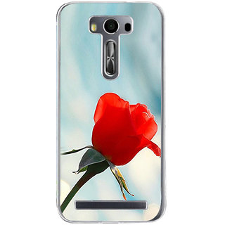 ifasho Red Rose Back Case Cover for Asus Zenfone Go