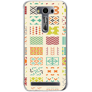 ifasho Animated Pattern colrful tribal design Back Case Cover for Asus Zenfone Go